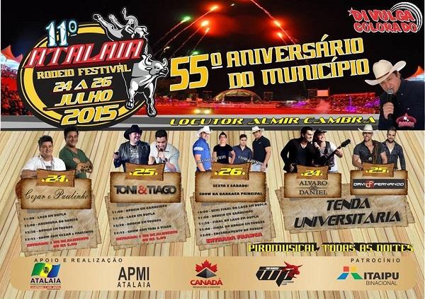 11º Atalaia Rodeio Festival
