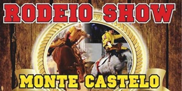 Vai começar o rodeio de Monte Castelo