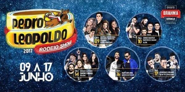 Pedro Leopoldo Rodeio Show chega à reta final na Região Metropolitana de BH