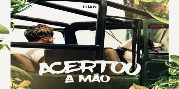 Com pegada pop, Luan Santana lança single