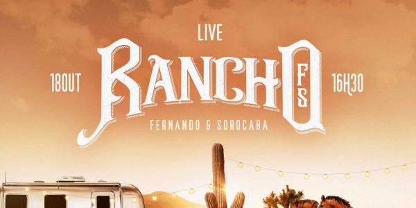 Rancho Fs é a nova Live de Fernando & Sorocaba