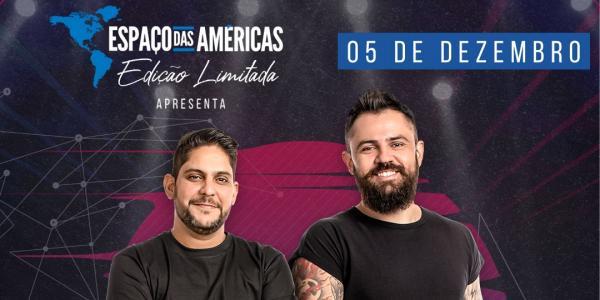 Jorge e Mateus fazem show com formato inédito no Espaço das Américas