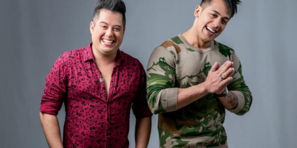 Hugo e Tiago fazem segunda live